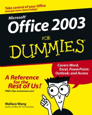 Office 2003 for Dummies 9780764538605