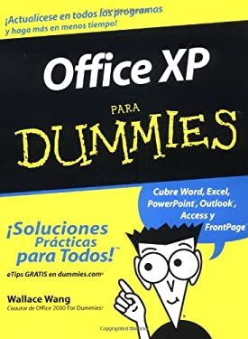 Office XP Para Dummies = Office XP for Dummies 9780764540998