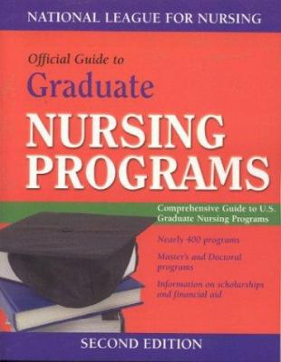 Guide to Graduate Nursing Programs [With CDROM] by ...