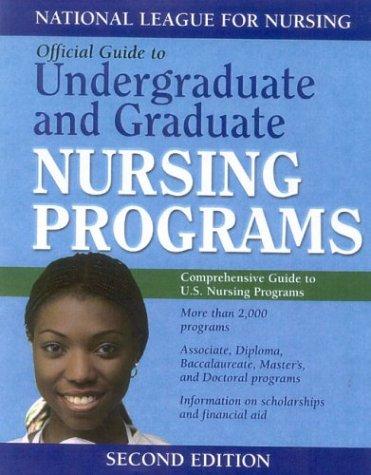 Guide to Undergraduate and Graduate Nursing Programs [With CDROM] 9780763718077