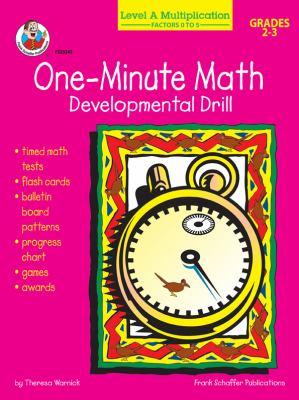 Multiplication: Factors 0 to 5, Grades 2 - 3: Developmental Drill 9780764703959