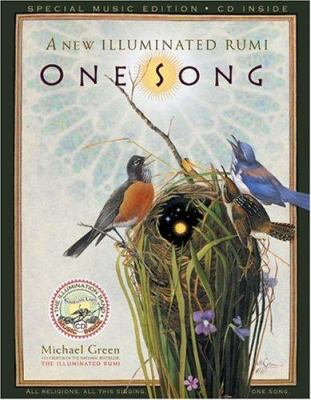 One Song: A New Illuminated Rumi [With CD] 9780762420872