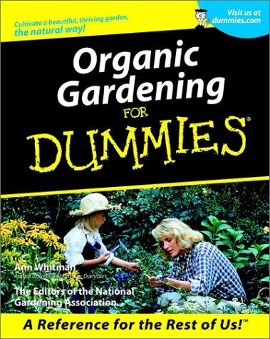 Organic Gardening for Dummies. 9780764553202