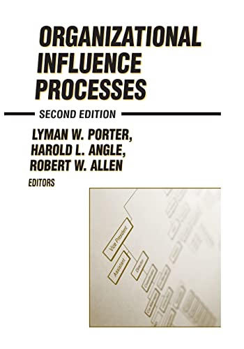 Organizational Influence Processes 9780765609991