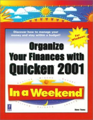 Organize Your Finances W/Quick Organize Your Finances W/Quick 9780761529095