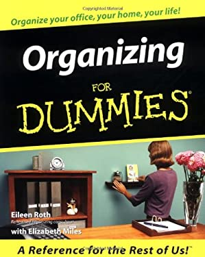 Organizing for Dummies 9780764553004