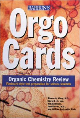 Orgocards: Organic Chemistry Review 9780764175039