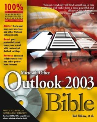 Outlook 2003 Bible 9780764539732