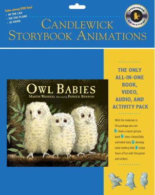 Owl Babies [With Stickers and Interactive Poster and CD (Audio) and Hardcover Book] 9780763635381