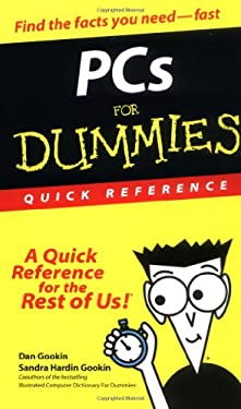PC's for Dummies Quick Reference 9780764507229