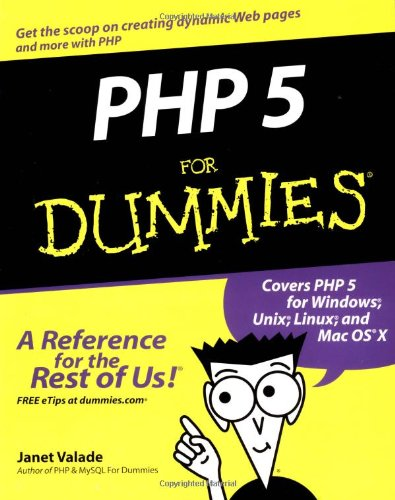 PHP 5 for Dummies 9780764541667