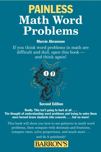 Painless Math Word Problems 9780764143359