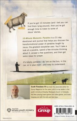 Parables: Exploring Jesus' Parables 10 Minutes at a Time 9780764463518