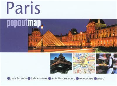 Paris Popoutmap 9780762749553