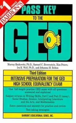 Pass Key to the GED 9780764104572