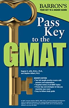 Pass Key to the GMAT 9780764145629
