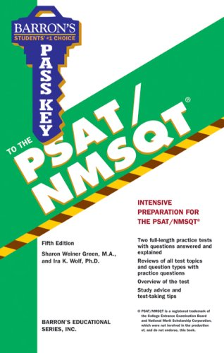 Pass Key to the PSAT/NMSQT 9780764138683