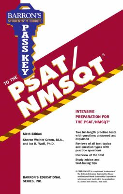 Pass Key to the PSAT/NMSQT 9780764144325