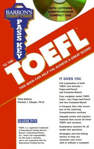 Pass Key to the TOEFL [With *] 9780764171451