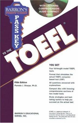 Pass Key to the TOEFL with Audio CD [With CD] 9780764175855