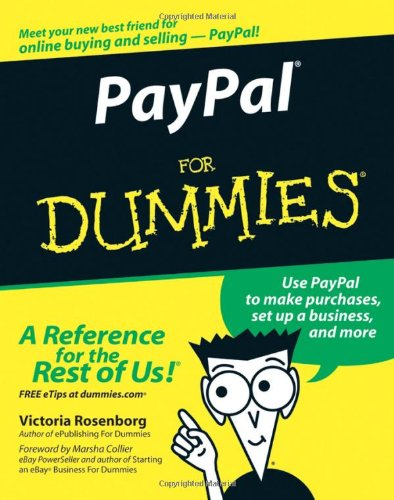 Paypal for Dummies 9780764583926