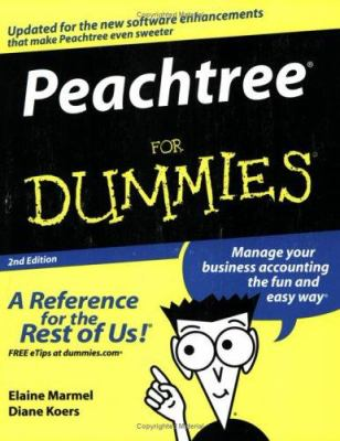Peachtree for Dummies 9780764559679