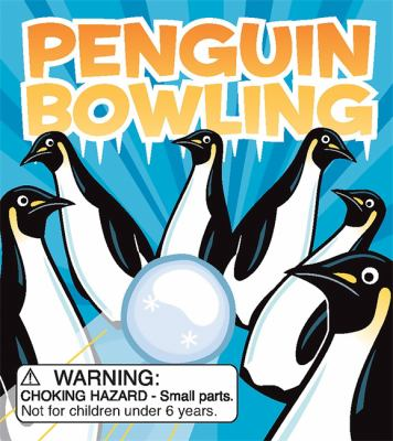 Penguin Bowling [With 10 Penguin Pins, Bowling-Ball Marble, 32-Pg Guide]