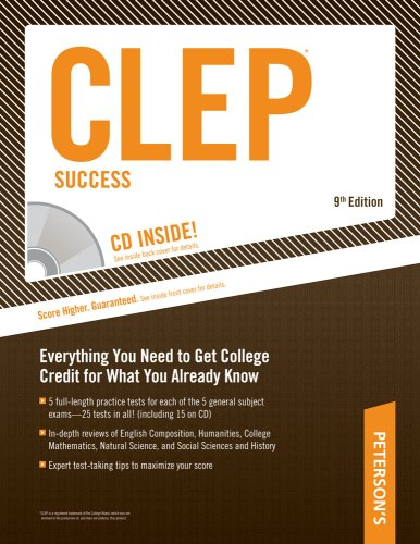 Peterson's CLEP Success [With CDROM] 9780768924794