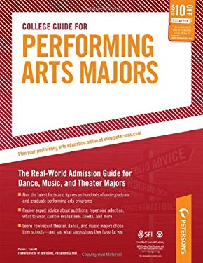 Peterson's College Guide for Performing Arts Majors 9780768926989
