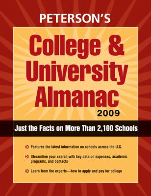 Peterson's College & University Alamanac 9780768925470