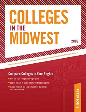 Peterson's Colleges in the Midwest 9780768925494
