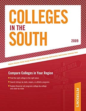 Peterson's Colleges in the South 9780768925562