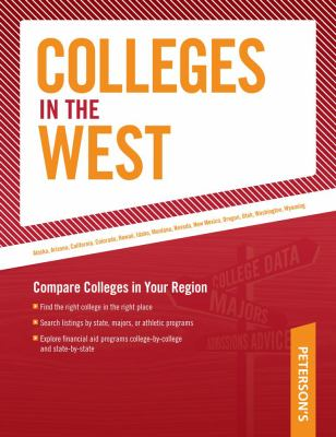 Peterson's Colleges in the West 9780768926965