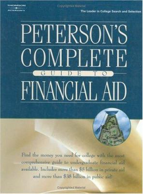 Peterson's Complete GD Financial Aid 1e 9780768911152