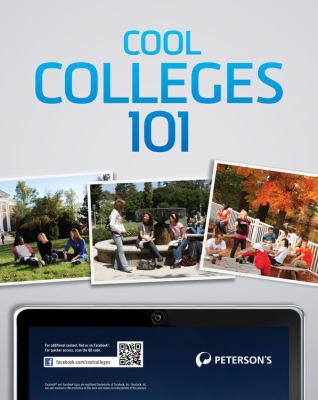 Peterson's Cool Colleges 101 9780768933970