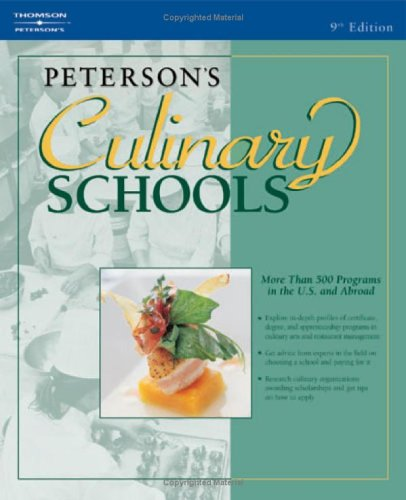 Peterson's Culinary Schools 9780768918960