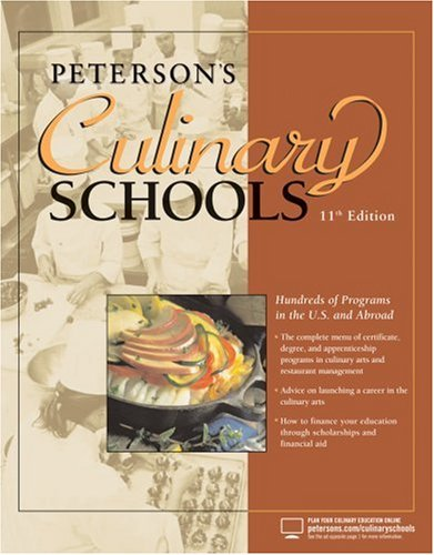 Peterson's Culinary Schools 9780768924107