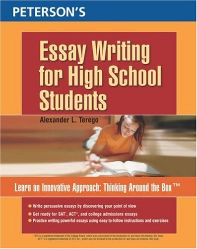 Peterson's Essay Writing for High School Students 9780768920635