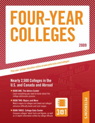 Peterson's Four-Year Colleges 9780768925449