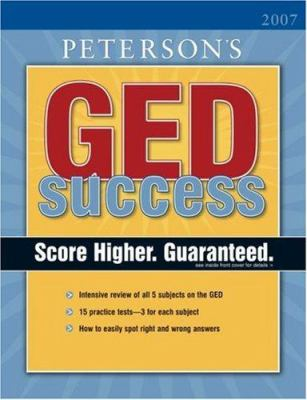 Peterson's GED Success 9780768915099