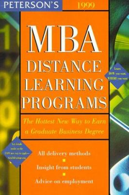 Peterson's ... MBA Distance Learning Programs 9780768901252