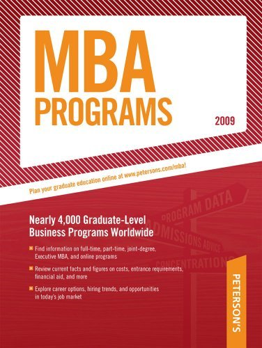 Peterson's MBA Programs 9780768925531