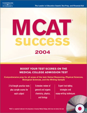 Peterson's MCAT Success [With CDROM] 9780768912791