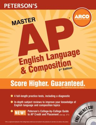 Peterson's Master AP English Language & Composition [With CDROM] 9780768924749