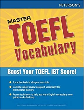 Peterson's Master TOEFL Vocabulary 9780768923285