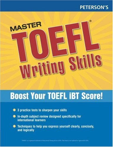 Peterson's Master TOEFL Writing Skills 9780768923292