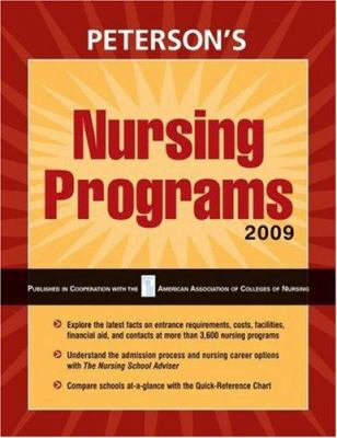 Peterson's Nursing Programs 9780768925548