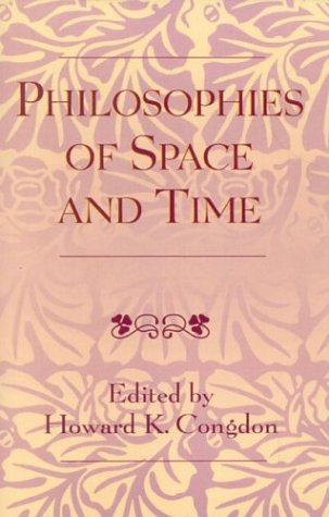philosophy of space and time Time, as another form of self-externality, is outside itself just as space is, but its self-externality is determined as space and not within itself, for time itself is purely the self-negation of space—it is the negative unity of space, that is, the negation of space by space.