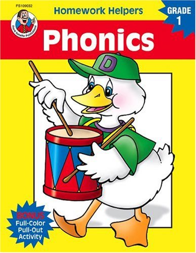 Phonics, Homework Helpers, Grade 1 9780768207033