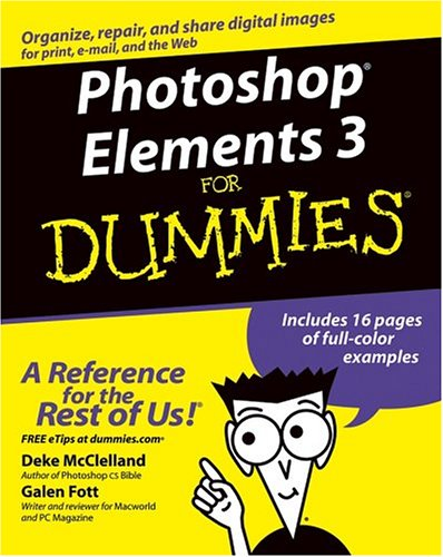 Photoshop Elements 3 for Dummies 9780764570629